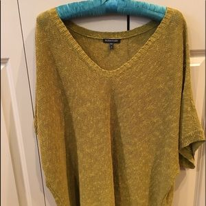 Sweaters - Eileen Fisher Gold Green Sweater M